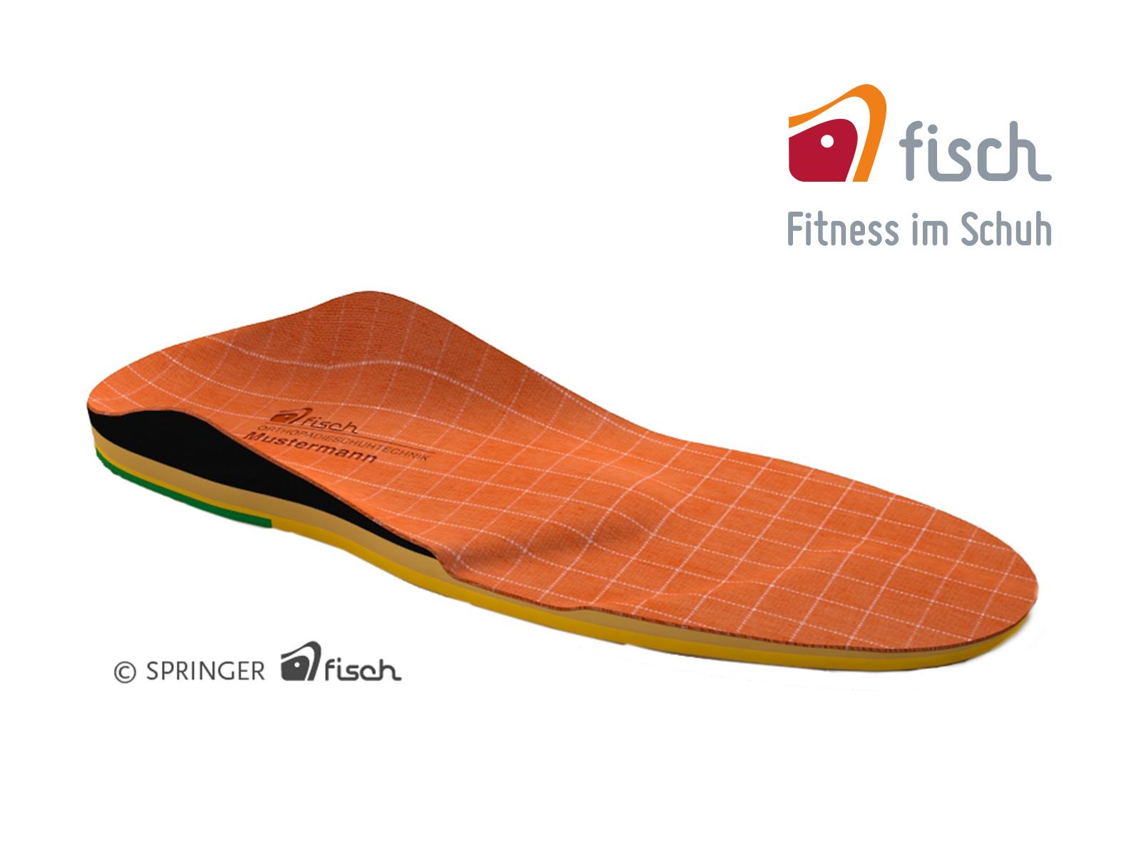 Einlage von FISCH – Fitness im Schuh
