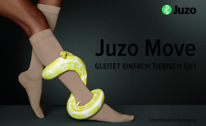 juzo move Kompressionsstruempfe - für maximalen tragekomfort